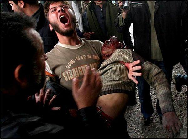 Holocausto en Palestina