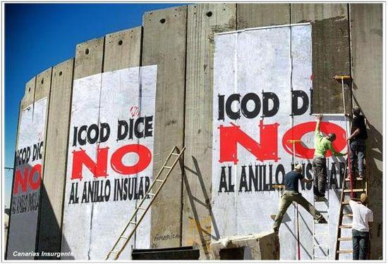 Icod dice NO al Anilo Insular