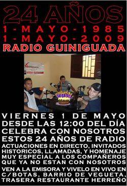 Radio Guiniguada cumple 24 años