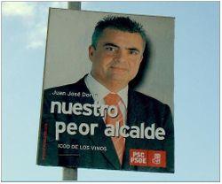 Cheo peor alcalde, aunque Diego no se queda atrás