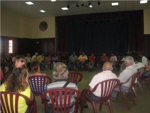 Fotos de la reunión con los afectados de Mazo y Fuencaliente
