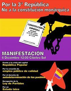 No a la Constitución Monárquica