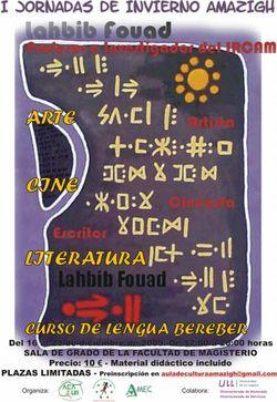 Jornadas de Invierno Amazigh