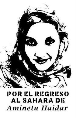 Por el regreso al Sahara de Aminetu Haidar