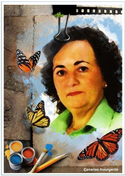 Isabel García (Imagen Canarias Insurgente)