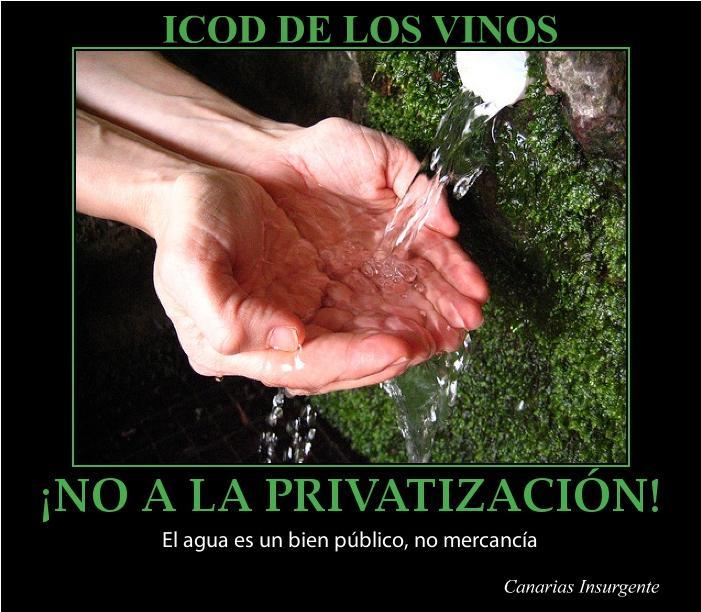 No a la privatización