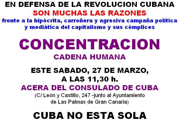 Cuba no está sola