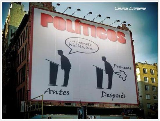 Políticos vs Demagogia
