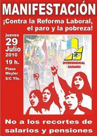 CartelManifestación 29J