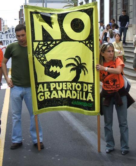 No Puerto de Granadilla - Greenpeace