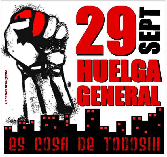 Huelga General 29S - Es cosa de tosdos