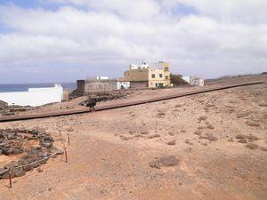 Camino de hierro, por entre La Guancha (Gáldar)
