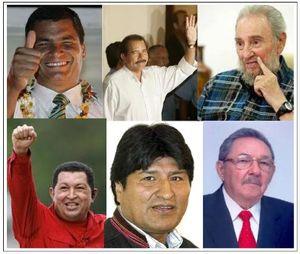 Líderes bolivarianos