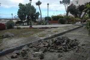 Obras en la plaza del Calvario
