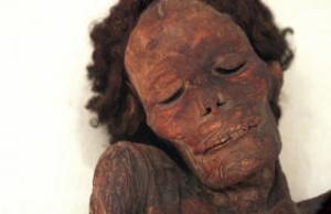 Momia  guanche