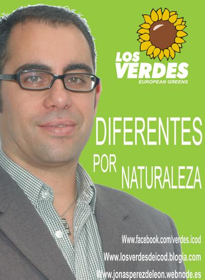 Cartel Partido Verde Icodense