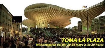 Manifestación viernes toma la plaza 20 mayo
