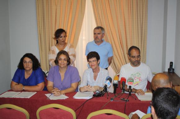 Imagen de las personas asistentes en representación de IDEPC