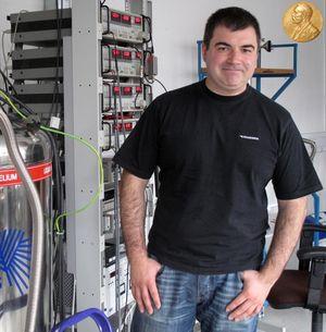 El premio Nobel de Física 2010 Kostya Novoselov