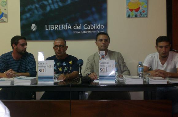 De izquierda a derecha: Omar Bordón, Agapito de Cruz, Manuel González y Juan A. Martin