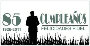 Fidel Castro 85 cumpleaños