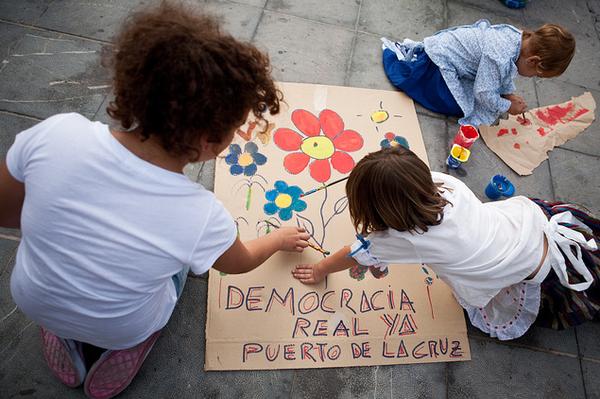 Democracia real ya Puerto de la Cruz (Tenerife)