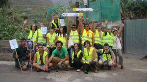 Salida hacia Santiago del Teide