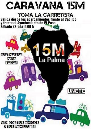 Caravana15M La Palma