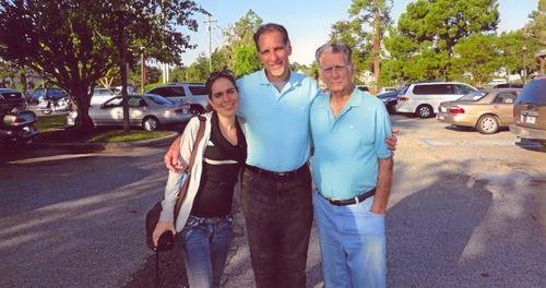 Encuentro de René González con su familia