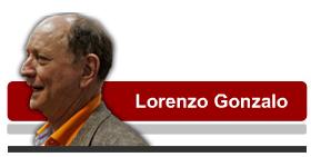 Lorenzo Gonzalo. Foto Virgilio PONCE