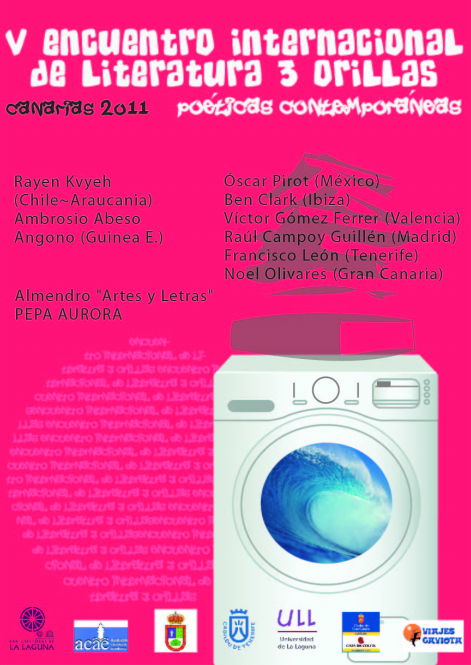 Programa V Encuentro Internacional de Literatura 3 Orillas (2011)