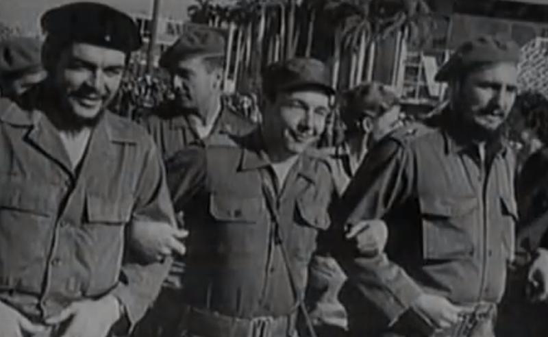 Che Guevara  Fidel y Raúl Castro