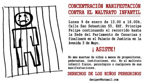Concentración maltrato infantil