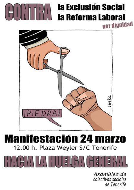 Manifestación 24 de marzo