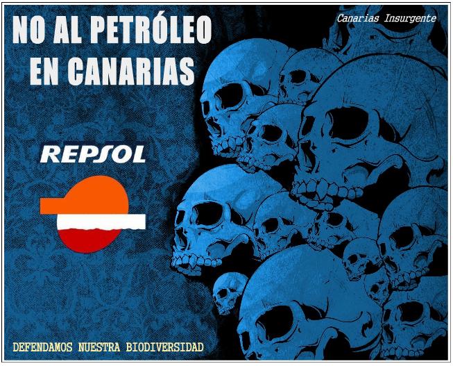 Canarias dice NO al petróleo