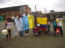 En un barrio de Buenaventura en Colombia