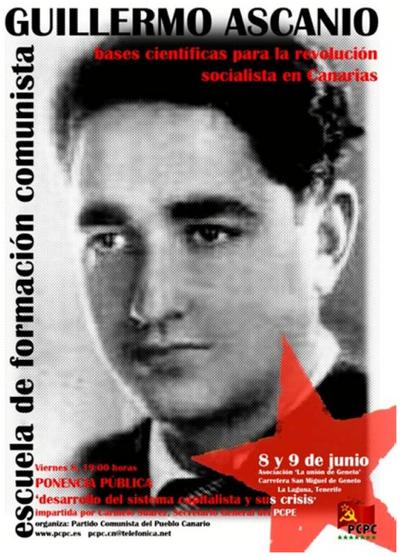 Escuela de formación Comunista Guillermo Ascanio