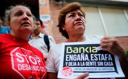 Bankia engaña