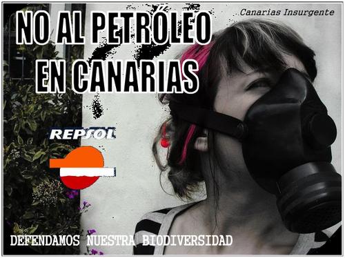 Canarias dice NO al petróleo. El negocio de unos pocos, a costa de todo un pueblo