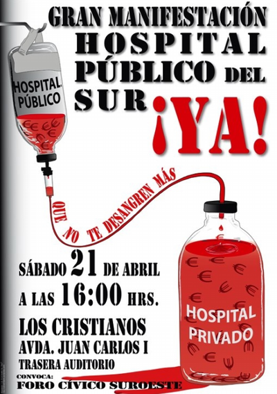 Hospital Público del Sur ¡Ya!