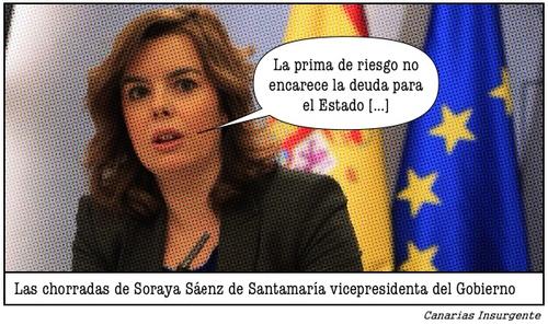 Las chorradas de Soraya Sáenz de Santamaría