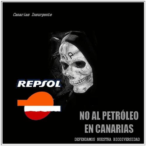 No al petróleo en Canarias
