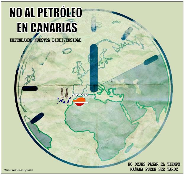 No al petróleo en Canarias. No dejes pasar el tiempo