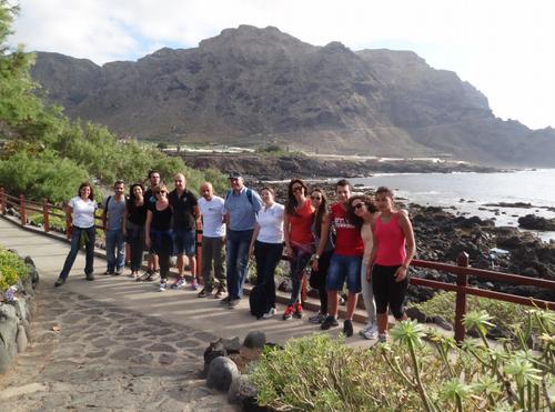 Equipo directivo y los estudiantes del Máster en Dirección y Planificación del Turismo