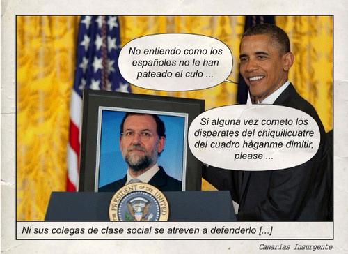 Rajoy vs Obama