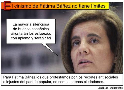 LA MINISTRA FÁTIMA BAÑEZ TRATA DE ENGAÑAR  A LOS FUTUROS PENSIONISTAS