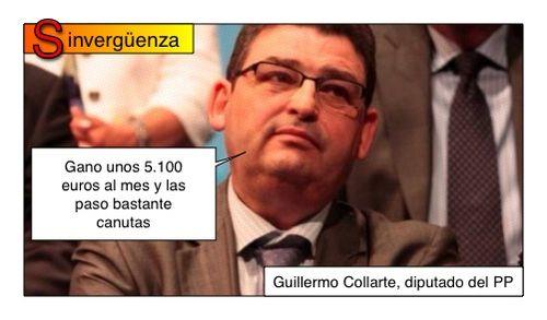 Guillermo Collarte (PP) el sinvergüenza