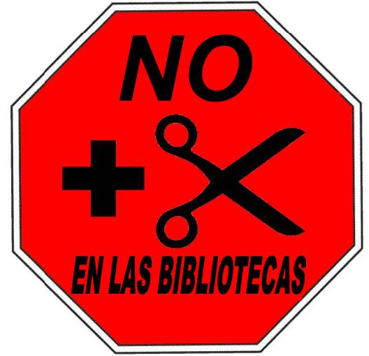 No más recortes en las bibliotecas