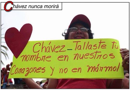 Chávez en nuestro corazón