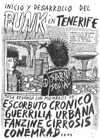 Mesa redonda: Inicio y desarrollo del Punk en Tenerife